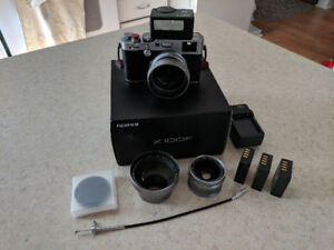 Fuji X100f - Amazing Package! Tons of accessories!