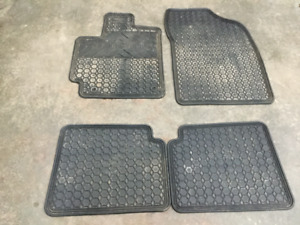 Winter car mats