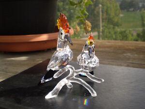 "Swarovski Crystal Figurine- "" Hoopoes "" - Birds Kitchener / Waterloo Kitchener Area image 10"