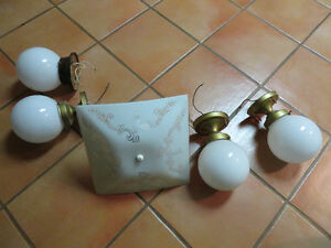 Ceiling Light Fixtures - Used