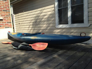 Dagger Crossfire Kayak and Skirt - $180 with paddle/$140 without