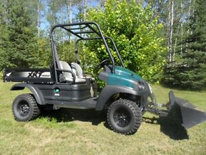 2014 Utility Vehicle, 4x4 with hydraulic front bucket & dump box