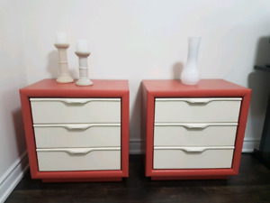Two beautiful refinished nightstands BEST OFFER