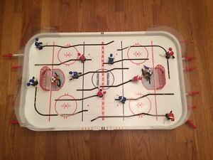 Top corner pro hockey tabletop!