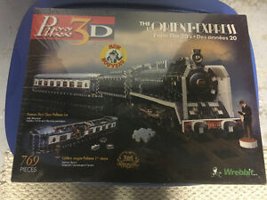 Brand new Orient-Express 3D puzzle