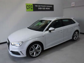 2014 Audi A3 2.0TDI 150 Sportback S Line BUY FOR ONLY £208 A MONTH FINANCE