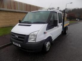 FORD TRANSIT 350 TWIN REAR WHEEL DOUBLE CAB TIPPER 2.4 RWD 115BHP 6 SPEED 2011