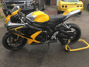 2008 GSXR 600 with Accessories