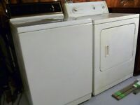 Set of washer and dryer in perfect condition of working