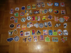 (150+) waterproof stickers for car/skate or as gift(negotiable)