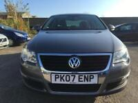 2007 Volkswagen Passat Saloon 2.0TDI 140 SE 6Spd Diesel grey Manual