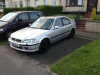 Honda Civic with mot