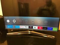 "49""Curved Samsung Smart Tv"