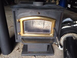 Elmira Stove works wood burning fireplace