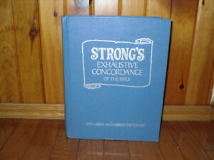 Strong's Exhaustive Concordance/ Greek and Hebrew Dictionary