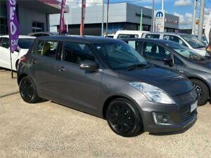 2014 Suzuki Swift FZ GL Grey 4 Speed Automatic Hatchback Fyshwick South Canberra Preview