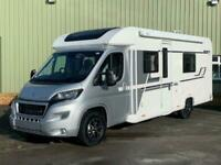 New 2020 Bailey Alliance Silver Edition SE 76-2 4 Berth Motorhome, Fixed Bed