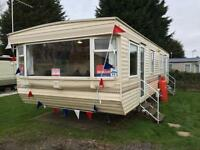 CHEAP FIRST CARAVAN, Steeple Bay, Hastings, Great Yarmouth, Southend, Clacton