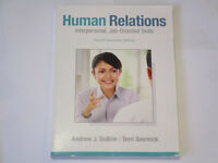 NBCC Textbook - Human Relations - Brand New!
