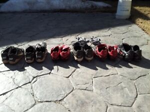 Baseball and Soccer cleats for sale