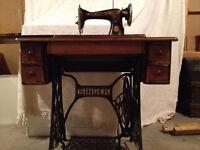 Antique Singer Sewing Machine / Machine à coudre Singer City of Montréal Greater Montréal Preview