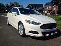 2013 Ford Fusion Titane Berline - Cuir, toit ouvrant, GPS & plus