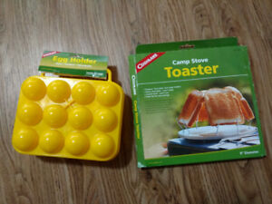 Coghlans Egg Holder & Toaster Rack - Camping