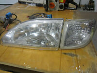Cobra style headlights for Mustang
