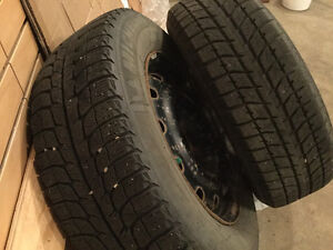 Winter Tires Two Sets (priced per set of 4)