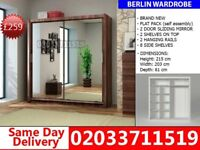 BRAND NEW 215cm Berlin 2 Door Sliding mirror 203cm get your order today Memphis