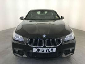 2012 BMW 520D M SPORT DIESEL 4 DOOR SALOON SERVICE HISTORY FINANCE PX