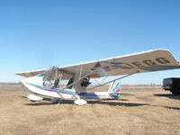 Ultralight Challenger II ready to fly great shape