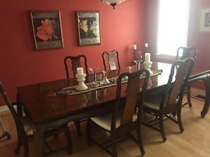 Dining Table and 6 chairs for sale, $1000 or best offer