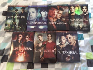 Supernatural season 1 to 7