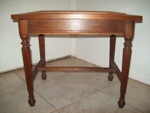 ANTIQUE LIFT TOP BENCH BEAUTIFUL FINISH NEEDLEPOINT PROJECT