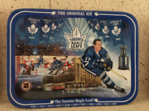 "Limited Edition Hockey ""Original 6"" Collector plates"
