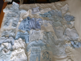 Baby boys 0-3 months baby blue bundle