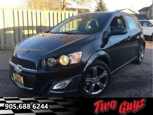 2015 Chevrolet Sonic RS  -  Sport Exhaust -  Leather Seats