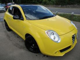 2011 ALFA ROMEO MITO JTDM-2 DISTINCTIVE IN YELLOW HATCHBACK DIESEL