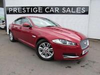 2013 Jaguar XF 2.2 TD Luxury (s/s) 4dr Diesel red Automatic