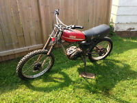 1979 Yamaha DT175 for Parts or Repair