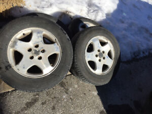 """All season tires and rims 16"""""""