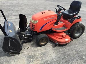 """2007 Simplicity 54"""" Hydrostatic Drive Lawnmower with Snow Blower"""