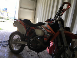 2013 ktm 500xcw low hours, lots of upgrades