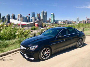 2016 Mercedes-Benz C63 AMG  l  Active LED  l  Premium