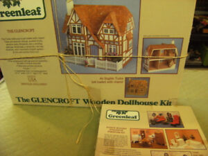 Doll house kit made by green leaf wooden