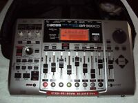 BOSS BR-900CD ver.2.0  8 Track Digital Recorder + CD Burner
