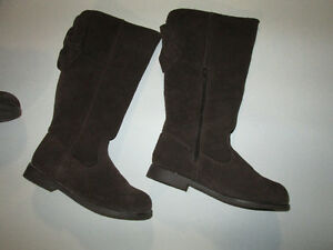 Gymboree Brown Suede Girls Tall Boots -size 2 Belleville Belleville Area image 5