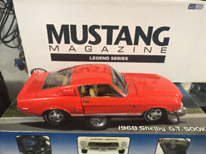 Ford Mustang Shelby GT 500 KR Mustang Magazine diecast 1/18 rare