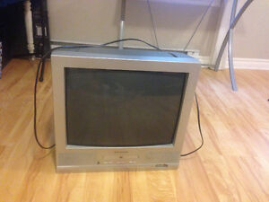 "Electrohome 21"" TV w/ Built In DVD Player & Remote"